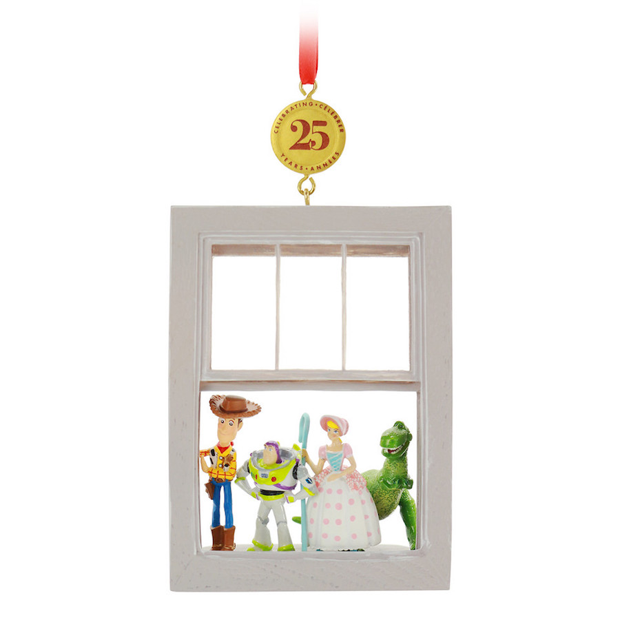 "Disney Sketchbook Ornament Legacy Collection celebrates the 25th anniversary of ""Toy Story"""
