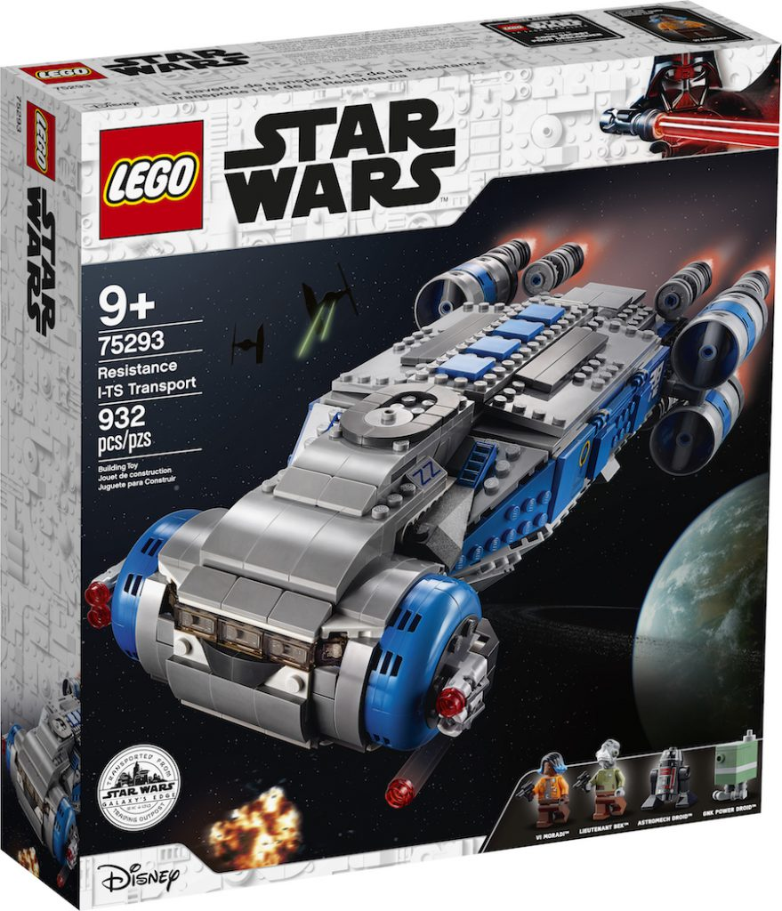 LEGO construction set of the Resistance I-TS Transport vehicle