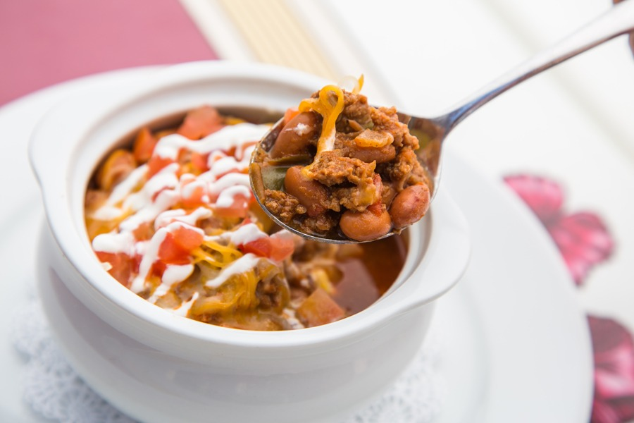 Walt's Chili and Beans from Carnation Café at Disneyland Park