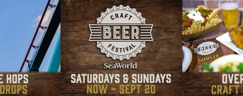 SeaWorld Orlando's Craft Beer Festival Returns along with Spooktacular and Christmas Celebration