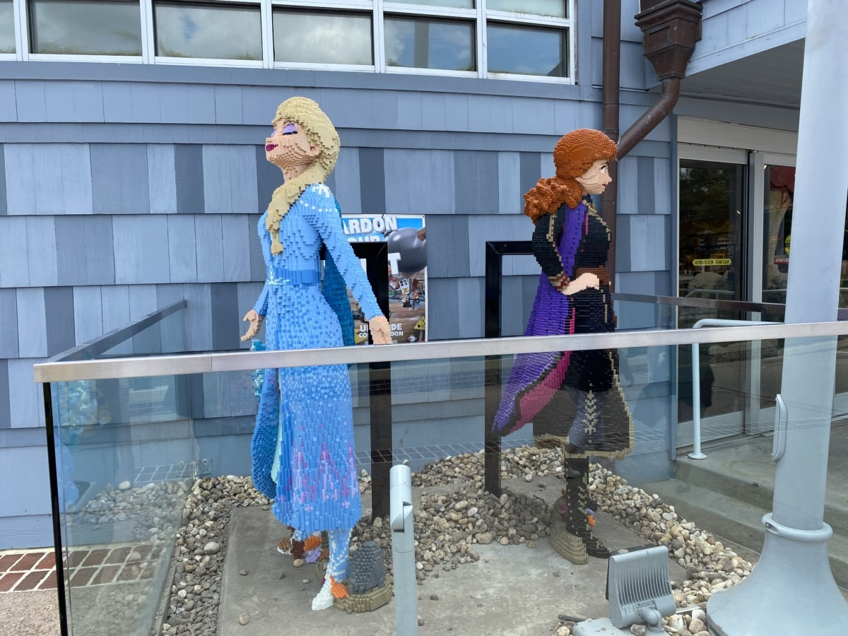 New LEGO Statues at Disney Springs! 2