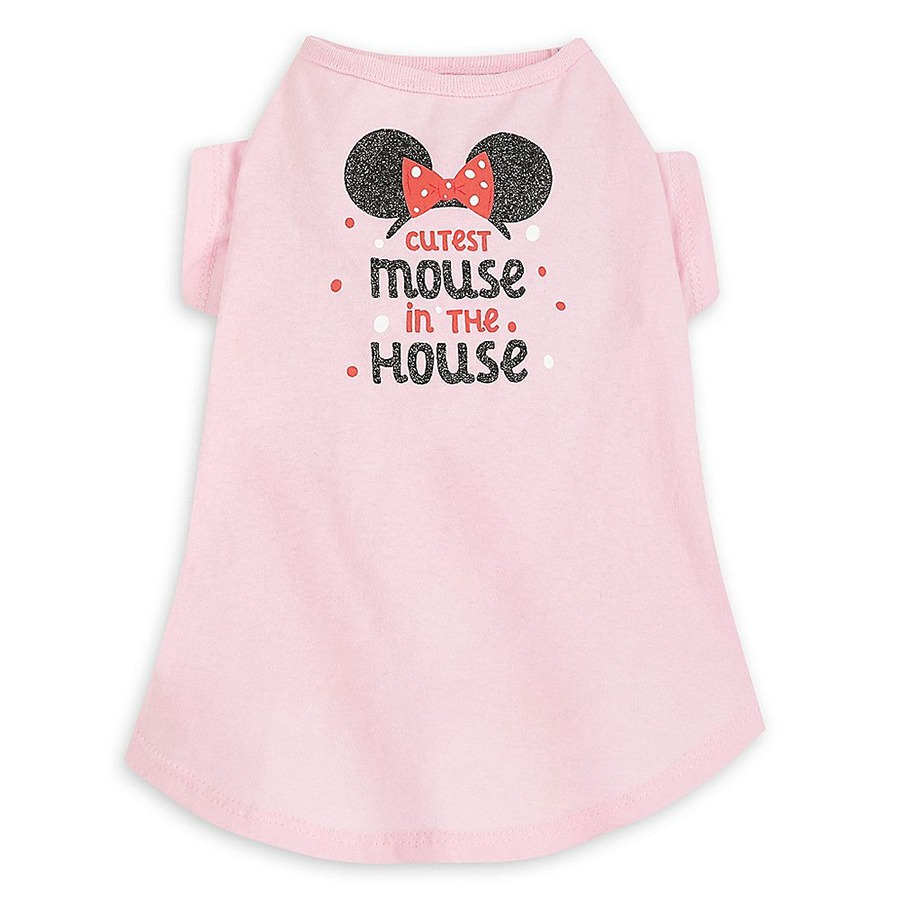 Cutest Mouse in the House-themed t-shirt for dogs