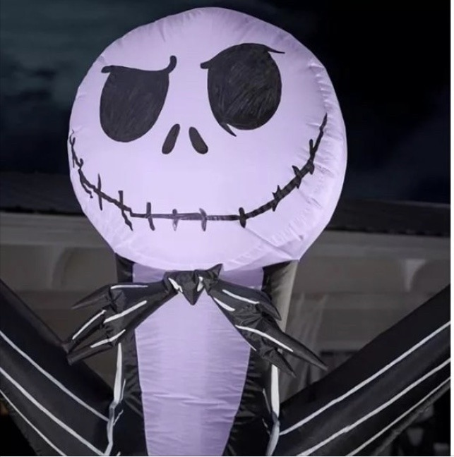 Dancing Jack Skellington Inflatable from Home Depot! 2