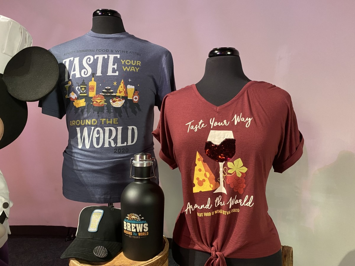 Epcot Food and Wine Festival Merchandise Preview! #tasteepcot 6