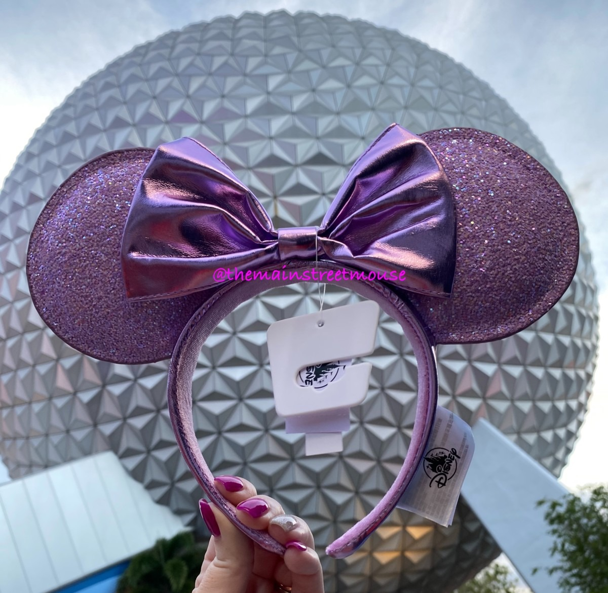 New Minnie Ear Headbands at Epcot! #disneystyle 1