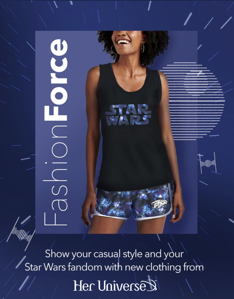 New Star Wars Apparel from Her Universe on shopDisney! 1