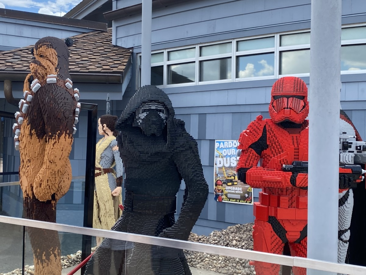 New LEGO Statues at Disney Springs! 5