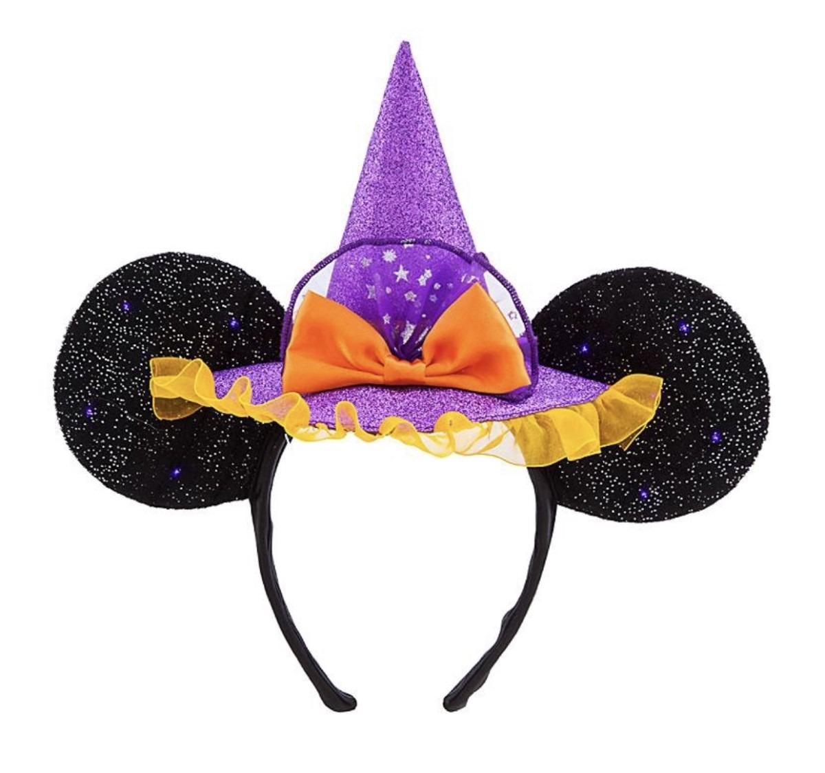 New LED Minnie Witch Ears for Halloween on shopDisney! 1