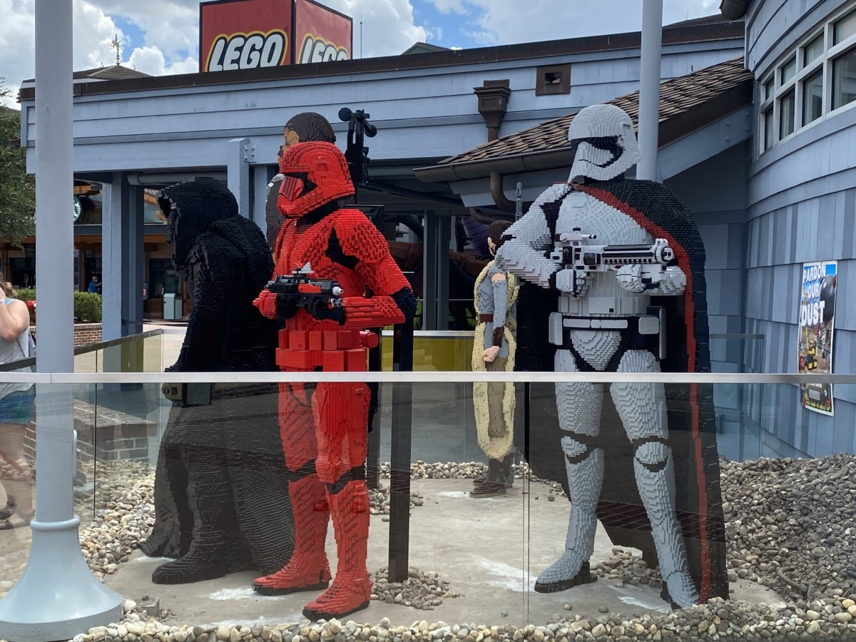 New LEGO Statues at Disney Springs! 4