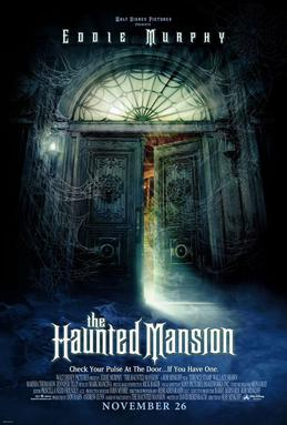 The haunted Mansion film poster