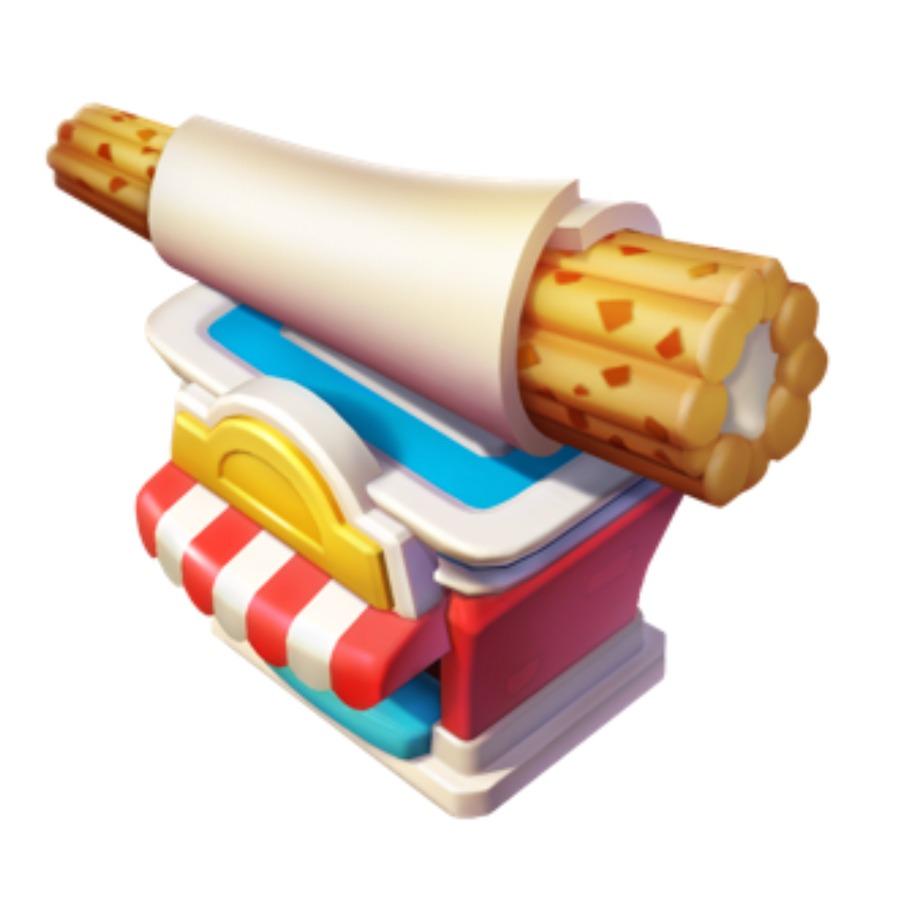 1x Churro Stand - Disney Magic Kingdoms mobile game