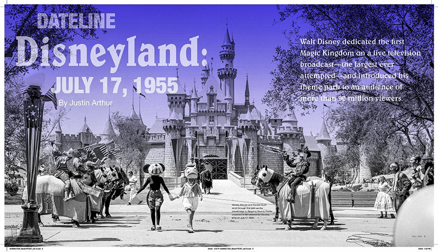 Dateline Disneyland: July 17, 1955