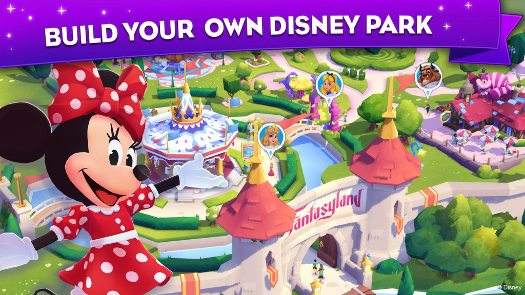 Screenshot of the New Mobile Puzzle Game Disney Wonderful Worlds