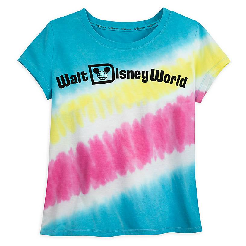Walt Disney World Logo Tie-Dye T-Shirt for Women