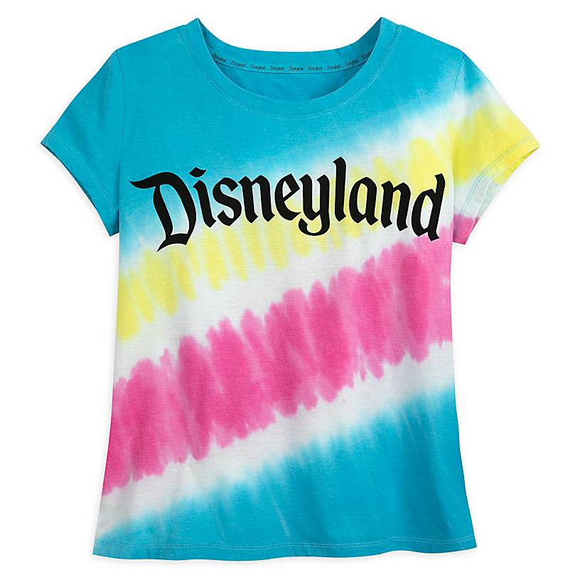 Disneyland Logo Tie-Dye T-Shirt for Women