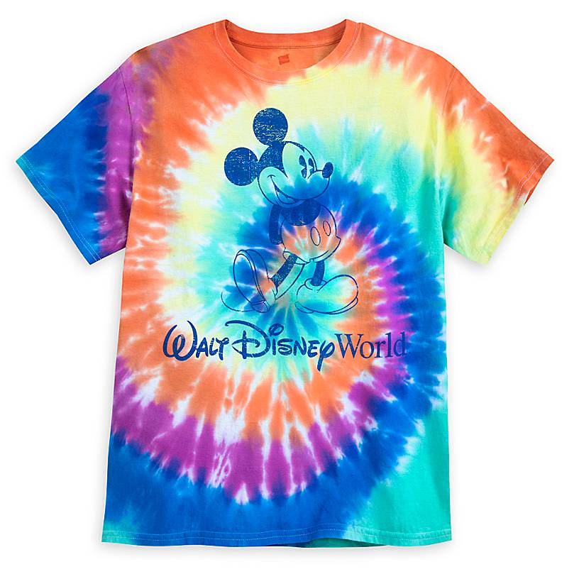 Mickey Mouse Tie-Dye T-Shirt for Adults – Walt Disney World