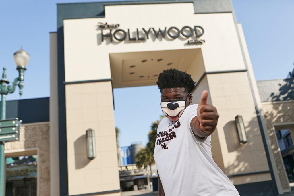 Television Star and Cheerleader Jerry Harris Celebrates a Birthday at Disney's Hollywood Studios