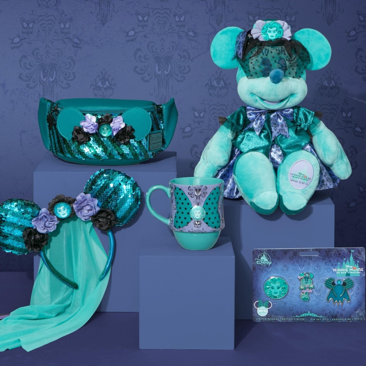 Minnie Mouse the Main Attraction- Haunted Mansion October Line 1