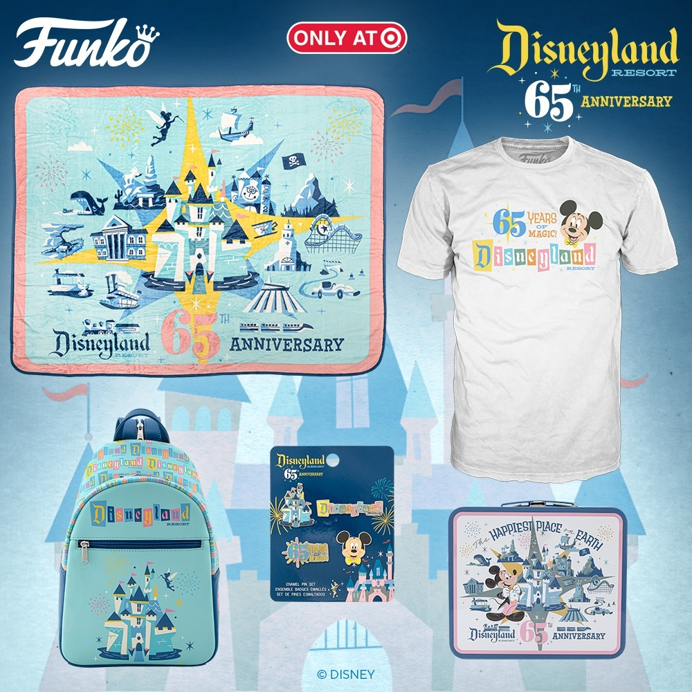 Disneyland 65th Anniversary Merchandise