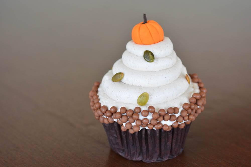 Pumpkin Cupcake Recipe from Contempo Cafe! 1