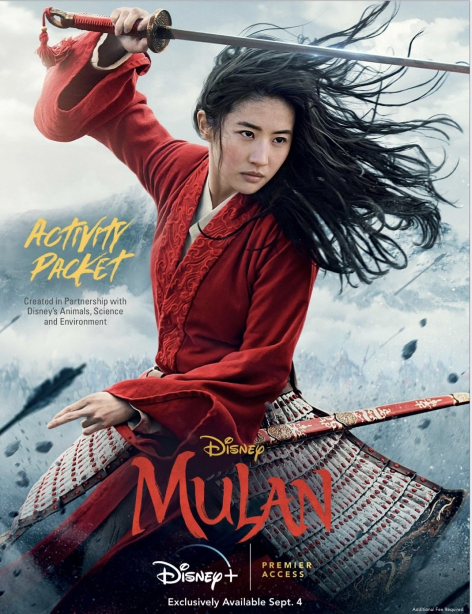 MULAN - Now Available on Disney+ Premier Access & Educational Activity Packet! 2