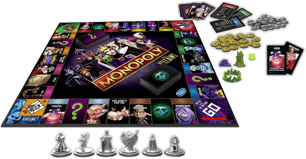 Disney Villains Monopoly