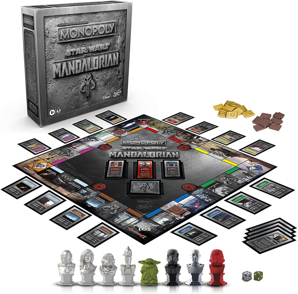 Star Wars The Mandalorian Monopoly