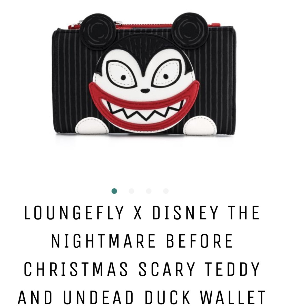 New Nightmare Before Christmas Bags from Loungefly 3