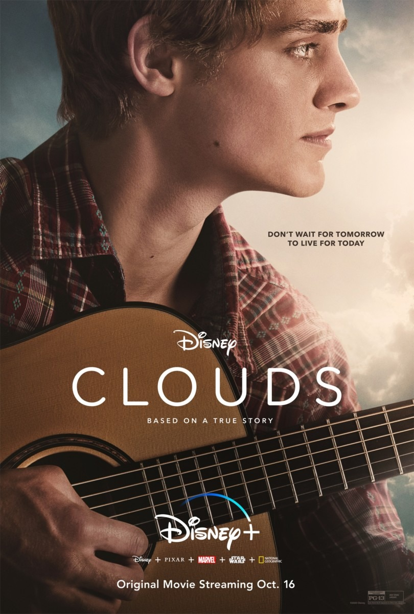 "DISNEY+ ORIGINAL ""CLOUDS"" RISES TO THE TOP ON OCTOBER 16 1"