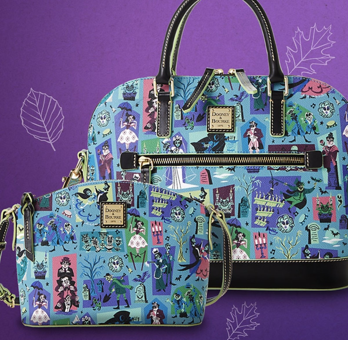 NEW! The Haunted Mansion by Dooney & Bourke 1