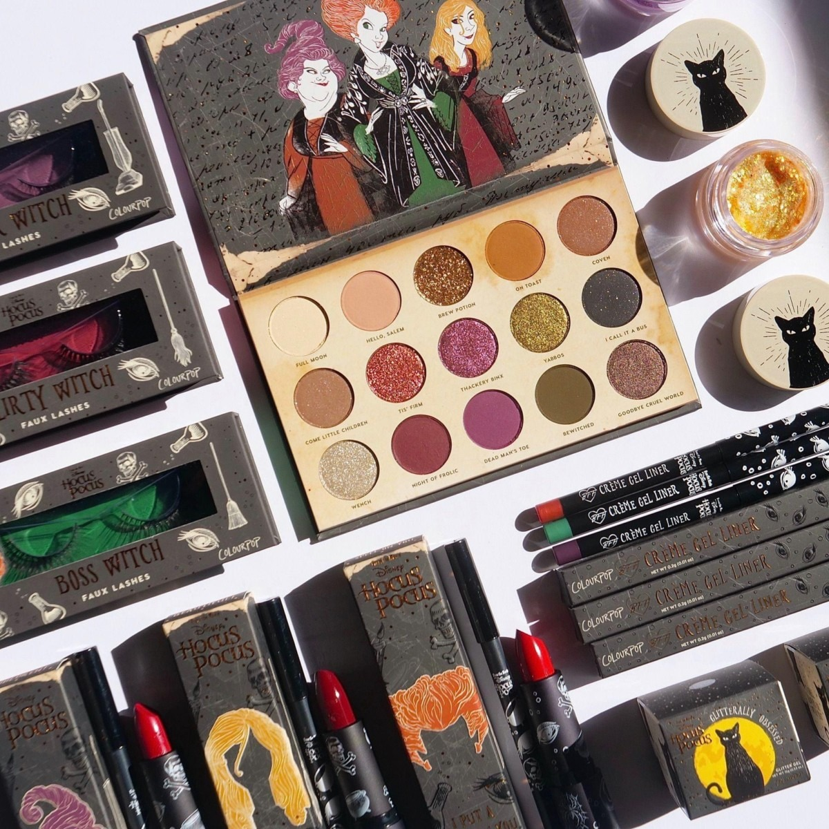 New Hocus Pocus Cosmetic Collab from ColourPop! 1