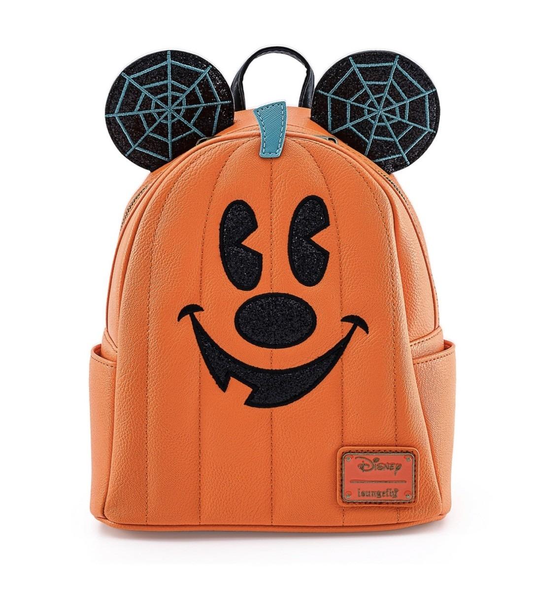 New Mickey Mouse Jack-O-Lantern Loungefly Mini Backpack on shopDisney! 1