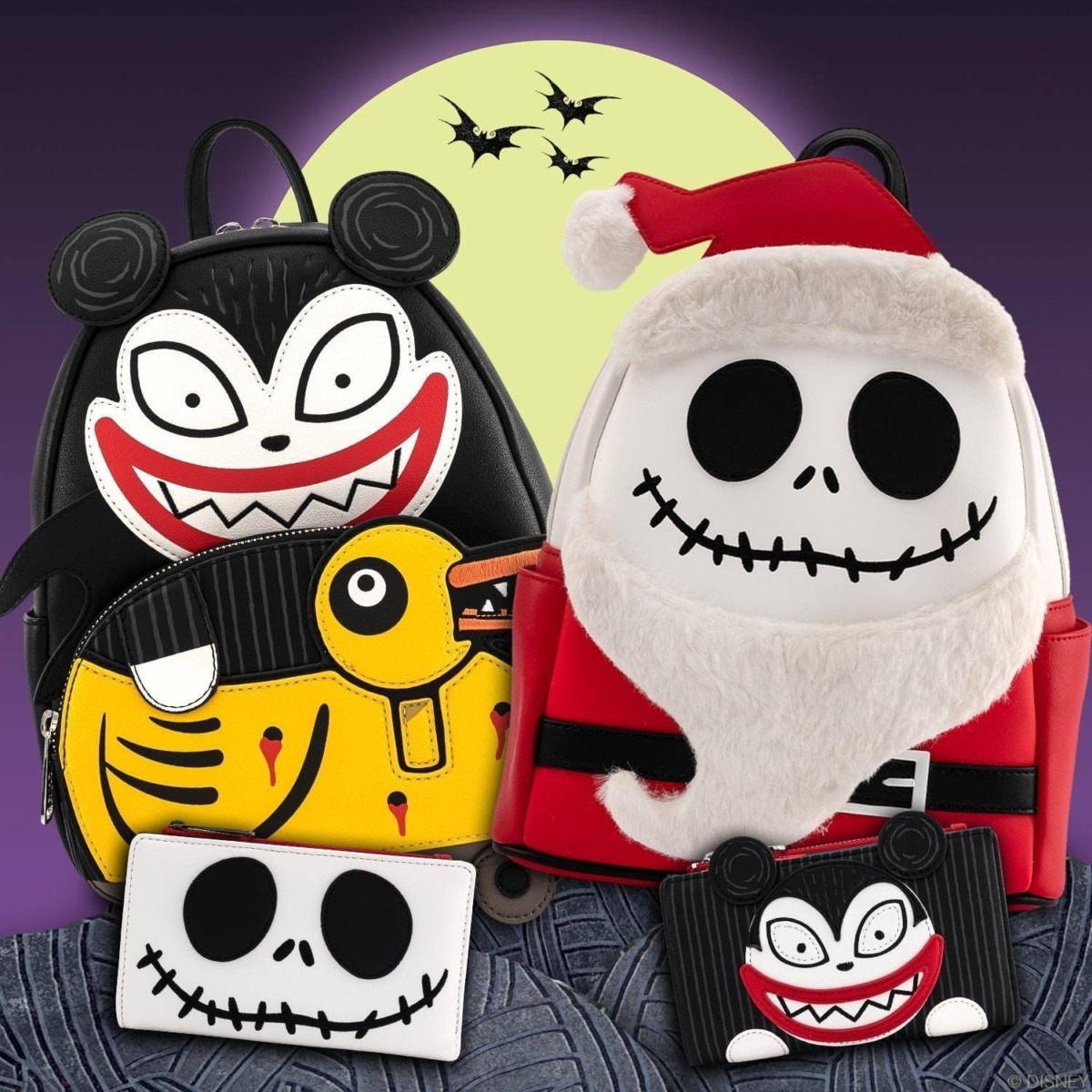 New Nightmare Before Christmas Bags from Loungefly 1