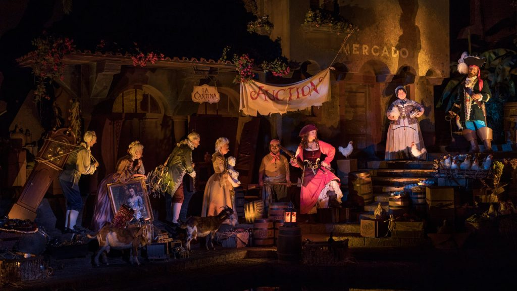 Pirates of the Caribbean at Magic Kingdom Park