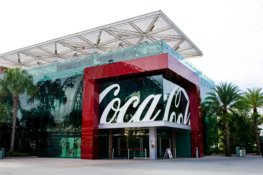 Coca-Cola Store at Disney Springs Exterior