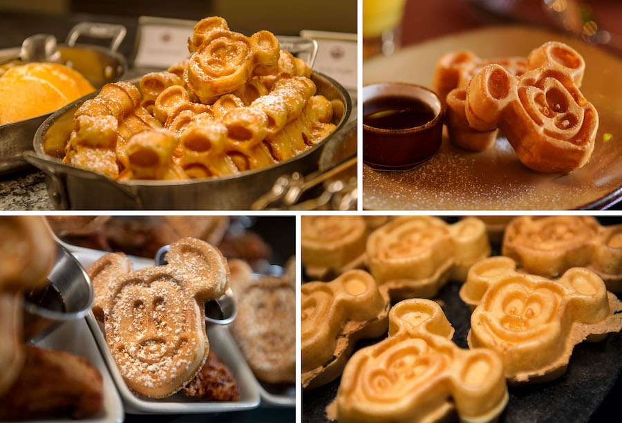 Classic Mickey Waffles from Various Locations at our Parks and Resorts around the World