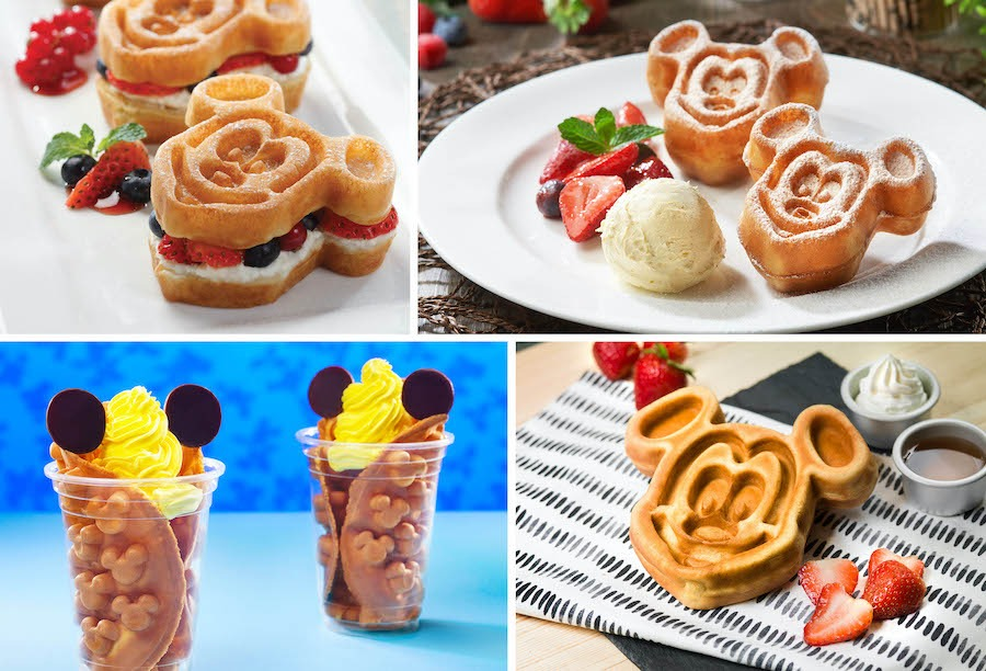Waffles treats from Hong Kong Disneyland