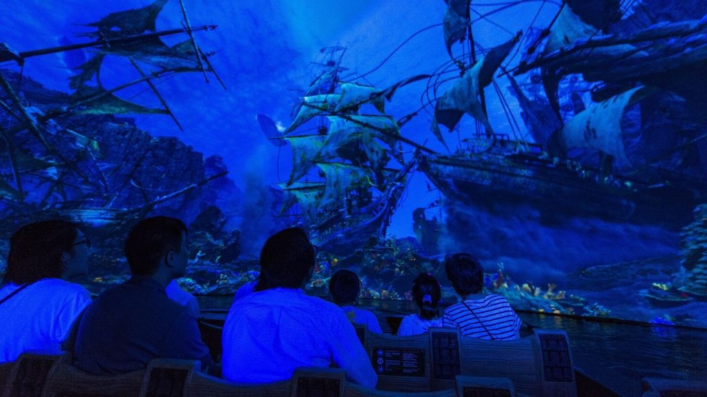 Pirates of the Caribbean adventure at Shanghai Disney Resort