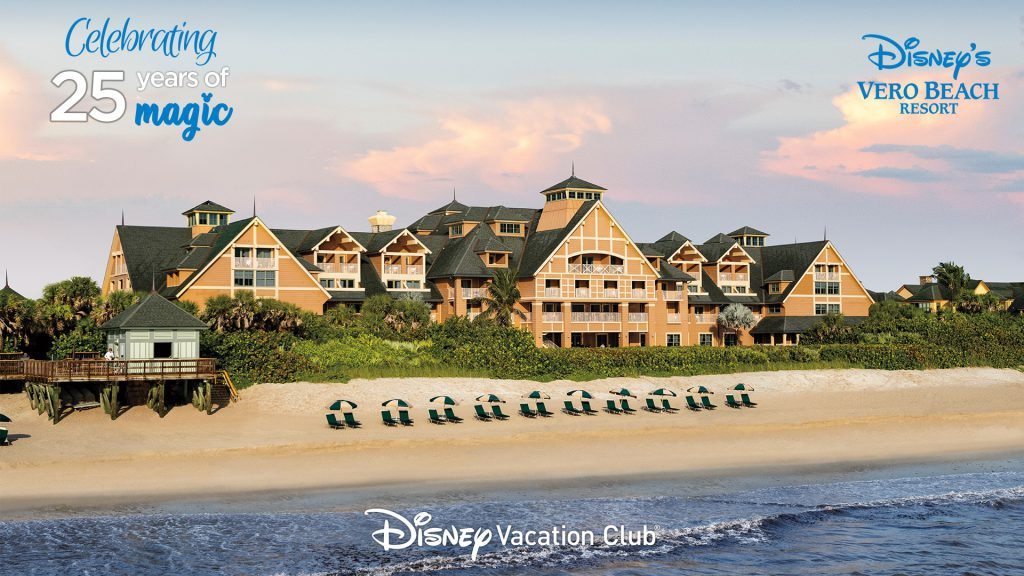 Zoom background celebrating Disney Vero Beach Resort