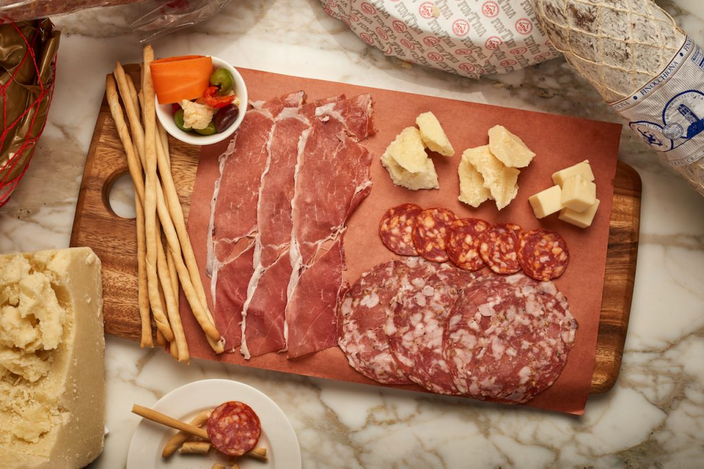Dolce Vita Charcuterie Board from Ezo's Hideaway for Weekday Delights at Disney Springs for the Fall 2020 Season