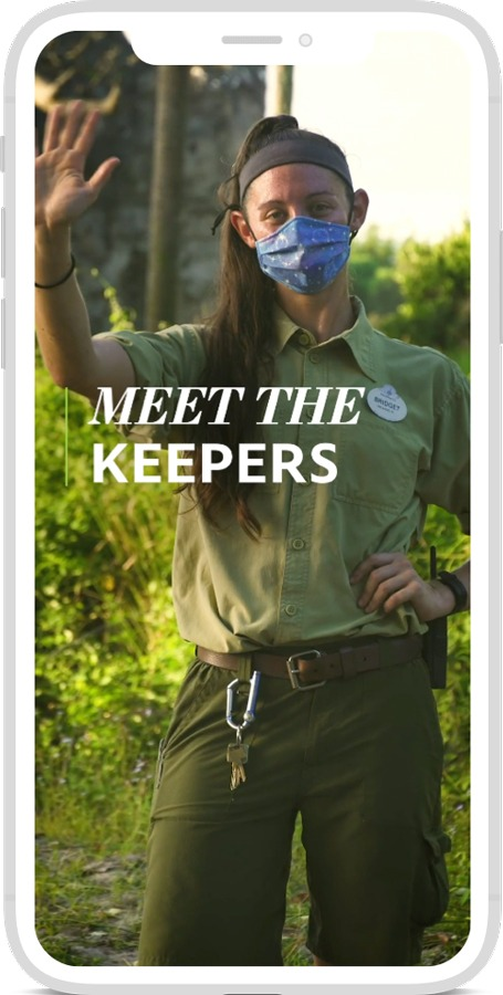 "Disney Parks Wild Sights"" Video Series - Meet the Keepers"