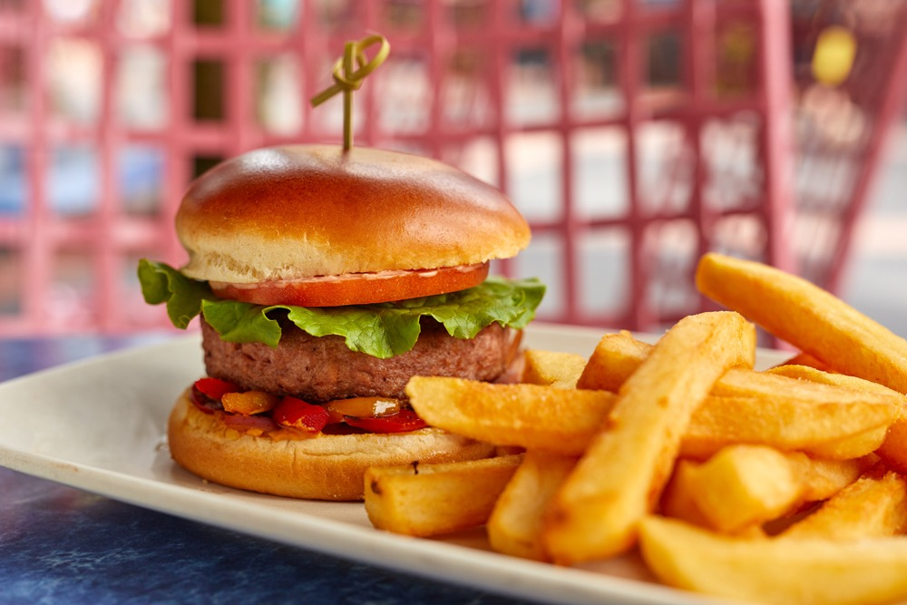 California Burger From ABC Commissary at Disney's Hollywood Studios