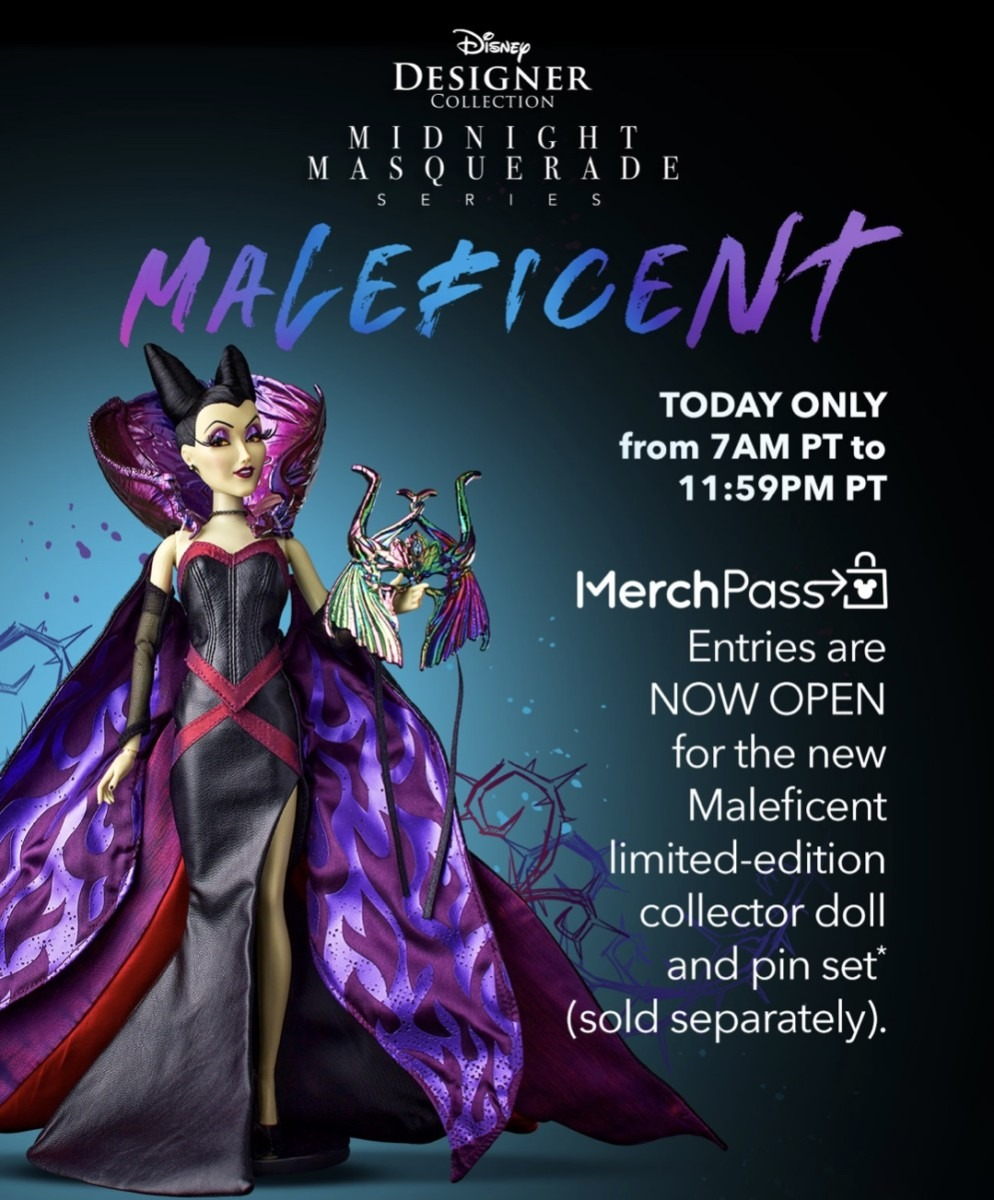 Enter for a Chance to Buy Maleficent Collectibles on shopDisney! 1