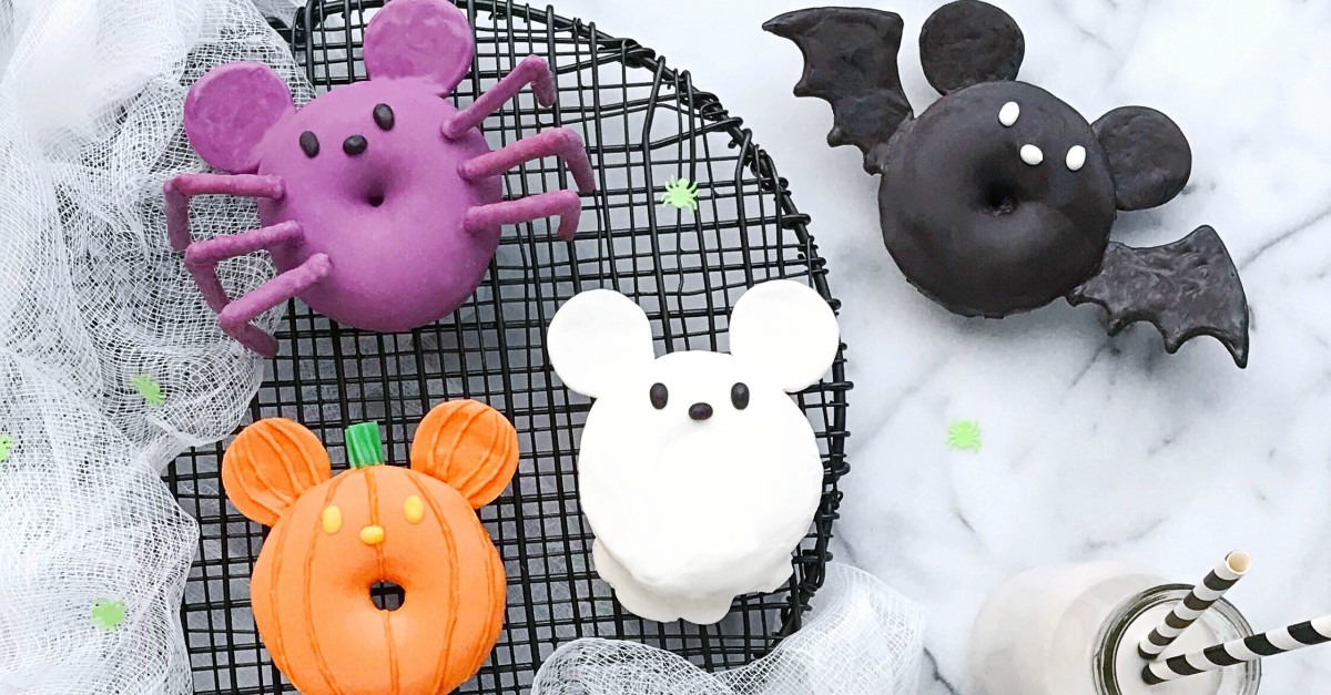 Spooky AND Cute Mickey Halloween Donuts! 4