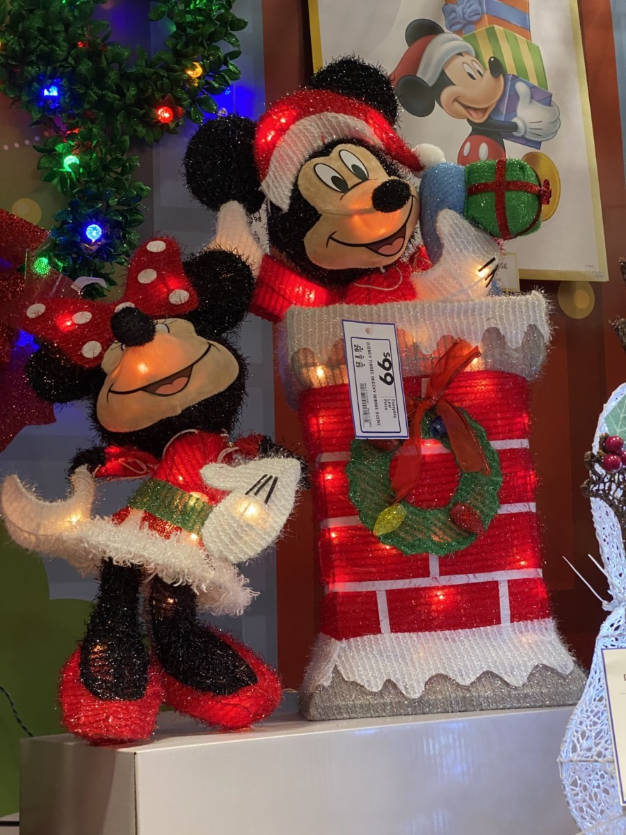 New Disney Christmas Decor Now at Lowe's! 5