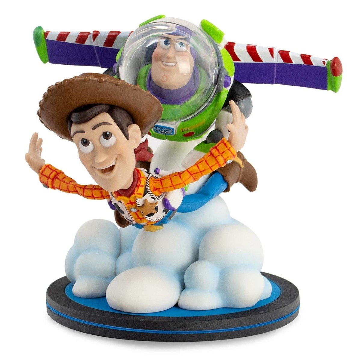 Woody and Buzz Lightyear Q-Fig Max by QMx – Toy Story 25th Anniversary $39.99