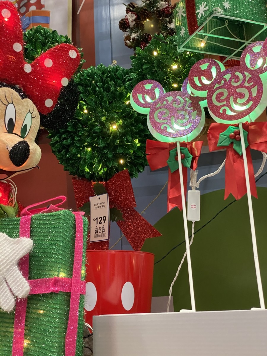 New Disney Christmas Decor Now at Lowe's! 6
