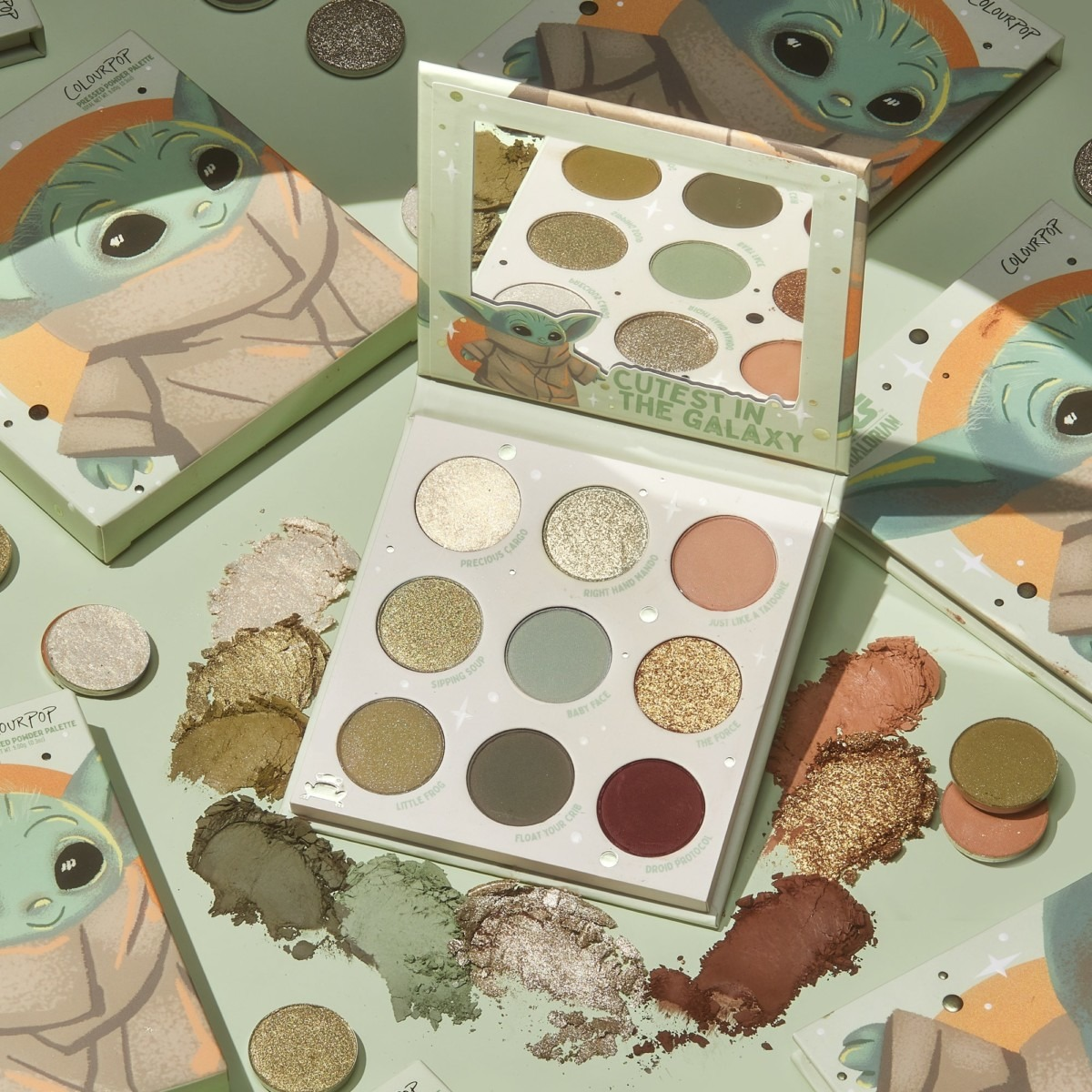 """ColourPop Cosmetics """"The Child"""" Eye Shadow Palette Coming Soon! 1"""