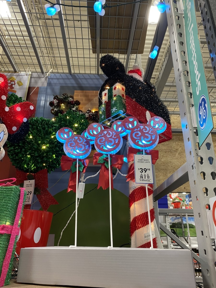 New Disney Christmas Decor Now at Lowe's! 2