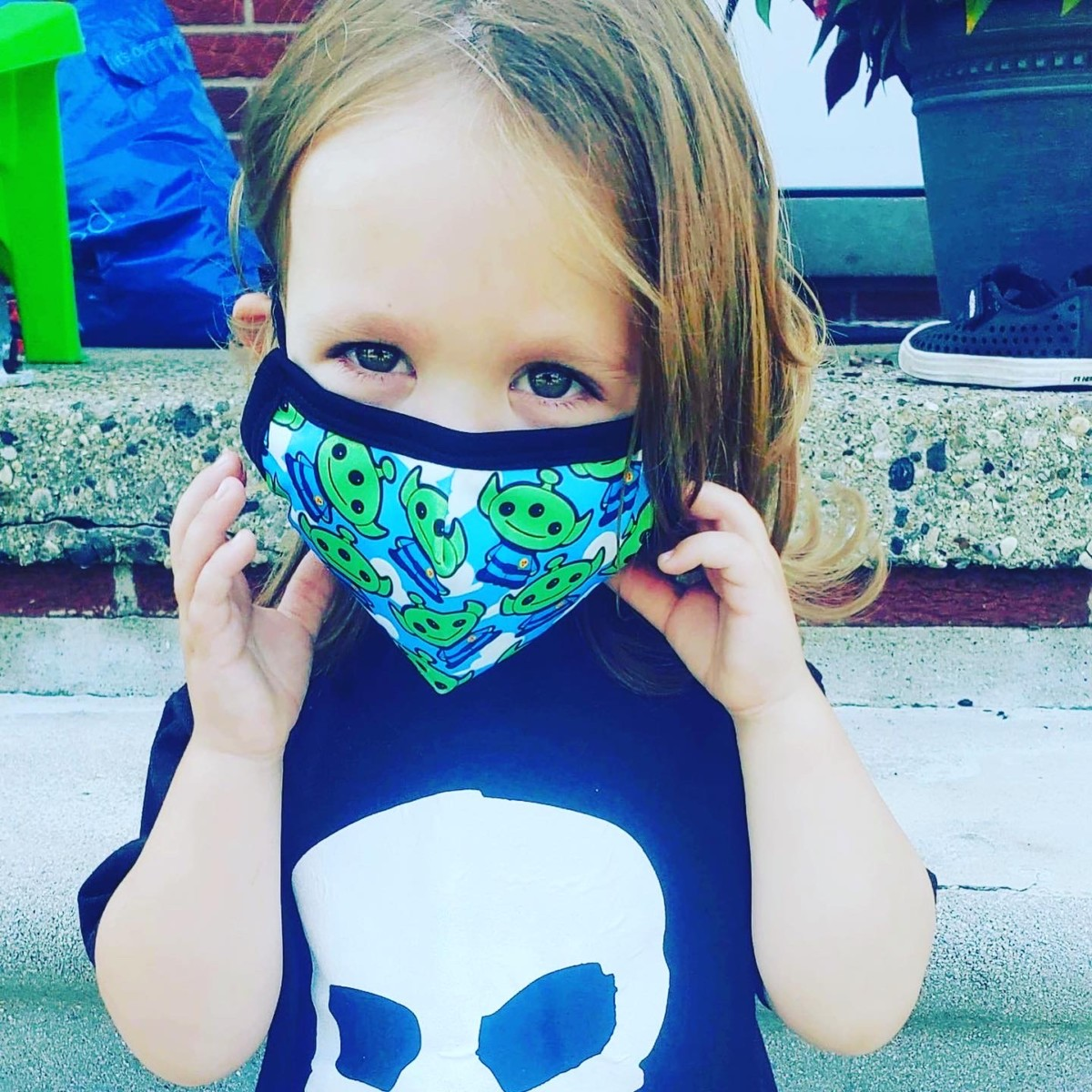 Boo to You! Free Matching Face Mask with Select Leggings! 11